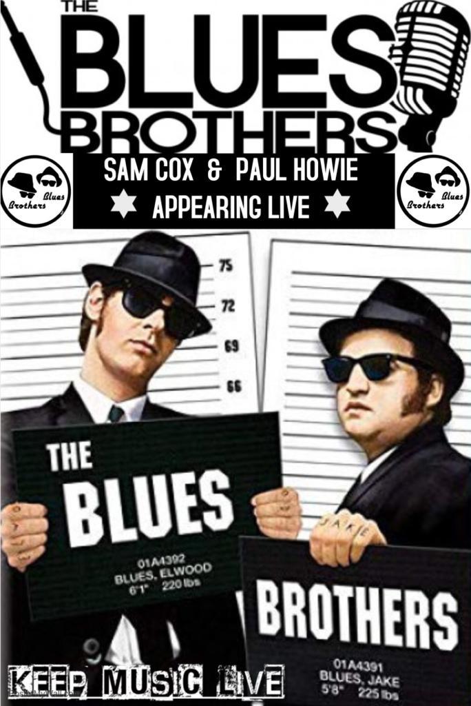 El Show Internacional a los famoso Jake y Elwood Blues ,el espectaculo homenaje a Los Blues Brothers especataculo,ya esta en el doceavo ano y sigeu llanando hotels en las Islas Canarias. Logrando recrear la energia y la emocion de Dan Akroyd y John Belushi.Los Blues Brothers entran en el scenario con una gran variedad de hits musicales y divertidas .Con el miembro original Paul Howie (Elwwod) y nuevo hermano Sam Philip Cox (Jake) ellos devuelven a la pelicula original con todos los grandes exitos y pasos de baile .Este show profesional  de una de los mejores peliculas de nuestro tiempo. Haran que el publico de todos los edades se levanten de sus asientos con el ritmo original de soul y rock and roll . Con sus voces grandes,coreografias incredible y la participacion del public , no pueden perderse este show .Canciones incluidos / Everybody Needs Somebody,Soulman,Rawhide y Jailhouse Rock plus muchas mas para hacer  una velada noche.
