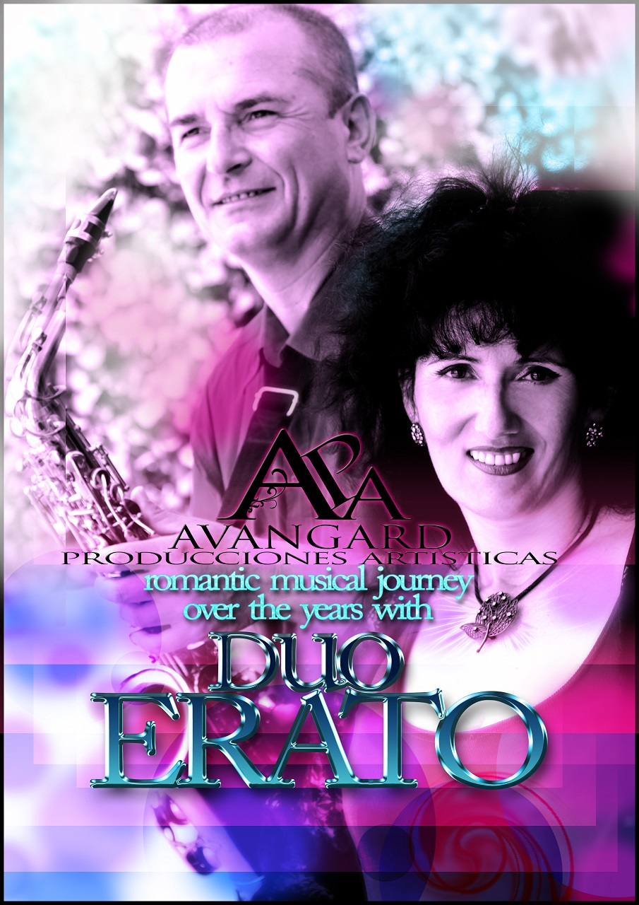 Duo Erato es el típico duo musical si quieren pasar la noche agradable junto con estilos musicales como Country o Pop,sin olvidar el romanticismo  o baladas y magníficos duetos.