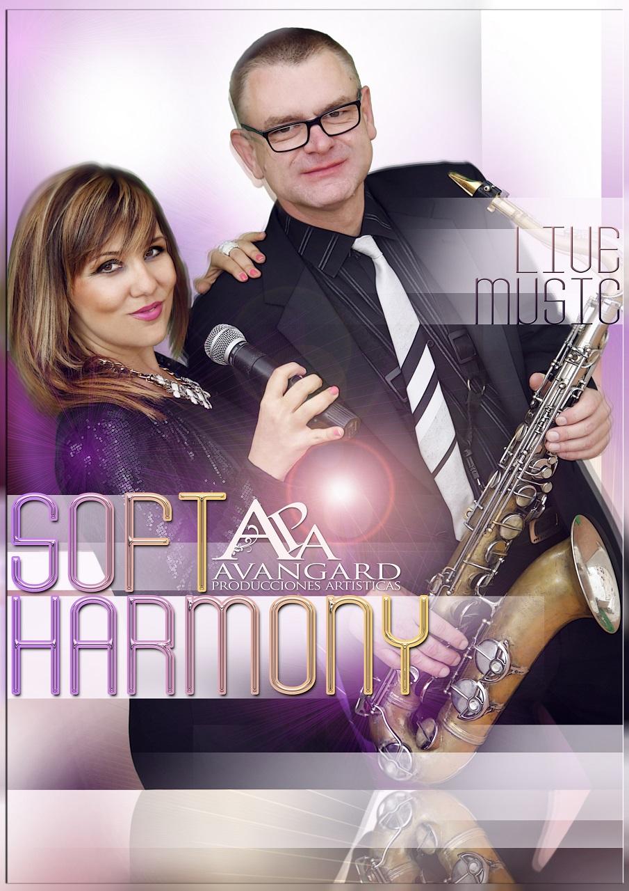 Un dúo novedoso compuesto por la preciosa voz de Ralitsa y la profesionalidad de un virtuoso del saxo como Adam, repertorio internacional multilingue y variadísimo que hará las delicias del espectador.