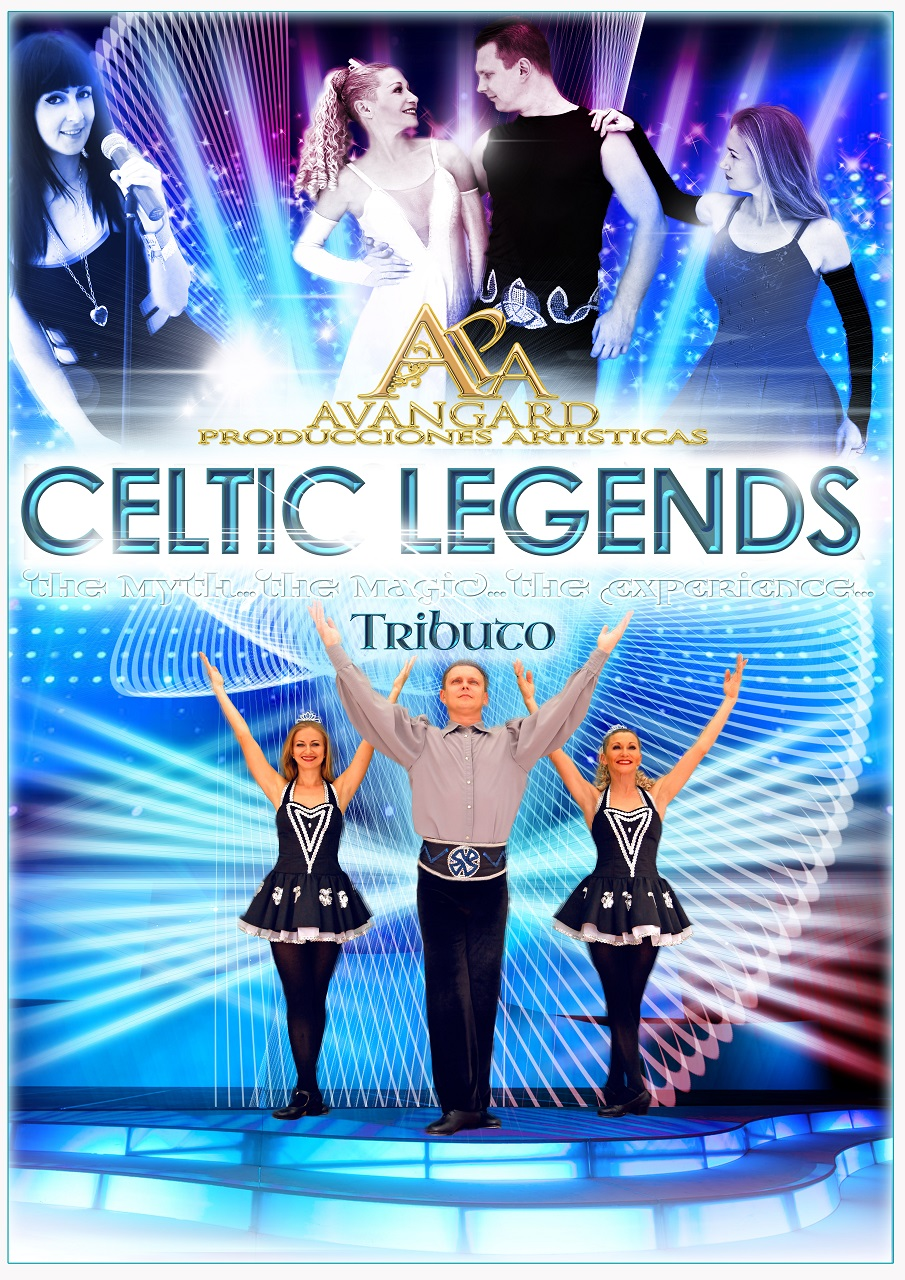 Homenaje al exitoso grupo de baile irlandés creado por Michael Flately, con una coreografía y vestuario impecable acompañada por una virtuosa del violín en directo.